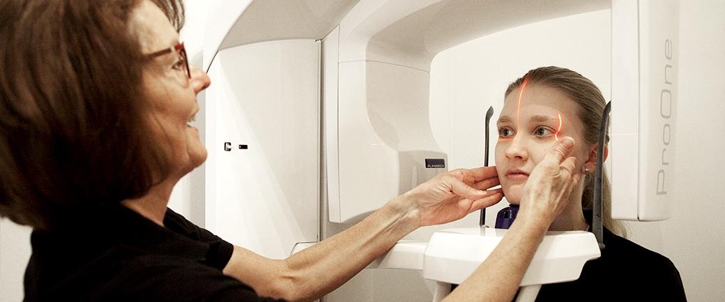 Röntgen einer Patientin